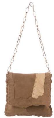 Dolce & Gabbana Suede Patchwork Bag Brown Suede Patchwork Bag