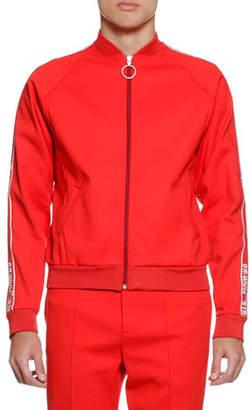 Off-White Men's Zip-Front Track Jacket