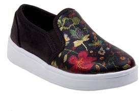 KensieGirl Floral Slip-On Sneaker