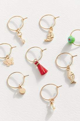 Urban Outfitters Amara Mixed Hoop Earring Set