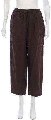 eskandar High-Rise Linen Pants