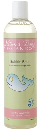 Nature's Baby Natures Baby Organics Bubble Bath NSF Lovely Lavender 12.0fl oz