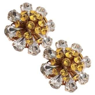 Dolce & Gabbana Yellow Metal Earrings