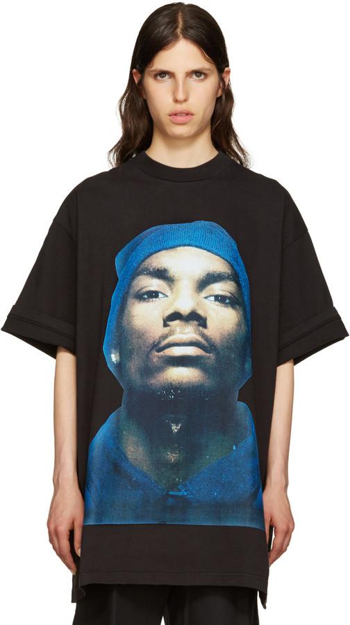 Vetements Black Snoop Dogg T-Shirt
