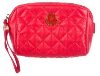 Moncler Quilted Cosmetic Bag w/ Tags