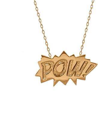 Edge Only - POW Pendant Large Long in Gold