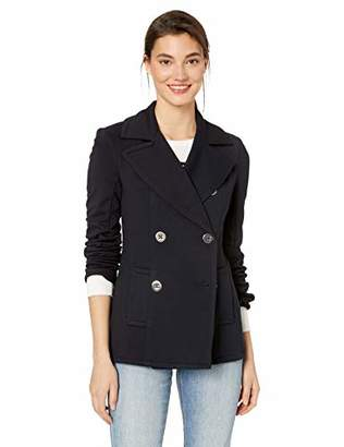 Bailey 44 Women's Windjammer Double Breasted Ponte Pea Coat Jacket