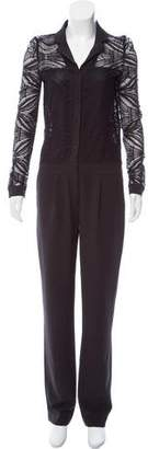 Hotel Particulier Long Sleeve Straight-Leg Jumpsuit w/ Tags