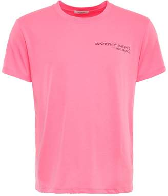Valentino T-shirt With Laminated Anywhen Print