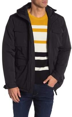Wesc Faux Fur Hooded Field Jacket