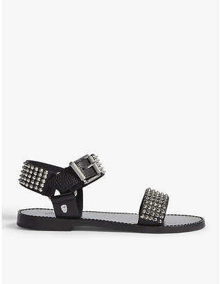Zadig & Voltaire Roman leather sandals