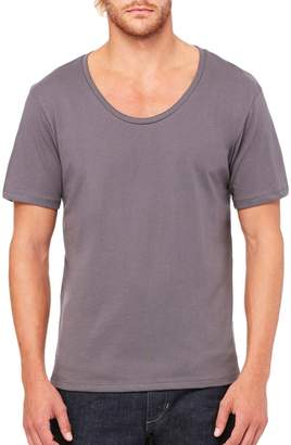 B.ella + Canvas Men's Jersey Wide Neck T-Shirt - ,L