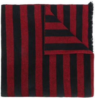 McQ striped monster scarf
