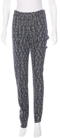 Missoni Metallic Crochet Pants