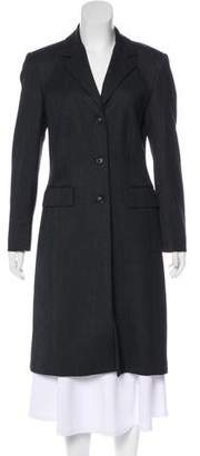 Michael Kors Notch-Lapel Long Coat