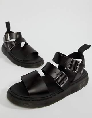 Dr. Martens (ドクターマーチン) - Dr Martens Gryphon Strap Sandals In Black