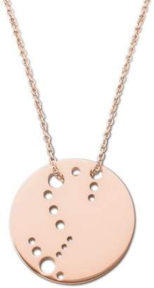 Ekria - Scorpio Zodiac Necklace Shiny Rose Gold