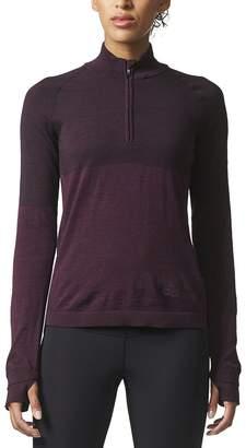 adidas Climaheat Primeknit 1/2-Zip Shirt - Long-Sleeve - Women's