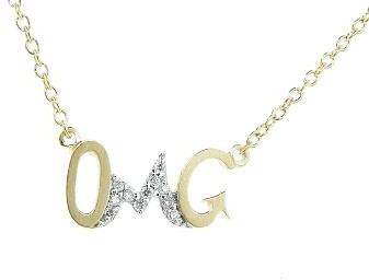 Other Designers OMG Necklace - Yellow Gold