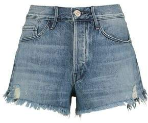 3x1 W2 Distressed Denim Shorts