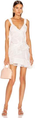 Alexis Ladonna Dress in White   FWRD