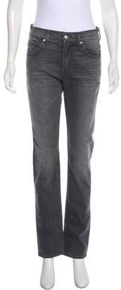 7 For All Mankind Paxtyn Mid-Rise Jeans w/ Tags