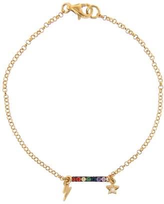 Ileana Makri EYE M by Night Rainbow Bracelet