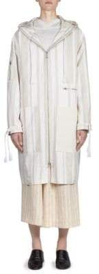 Acne Studios Striped Hooded Jacket