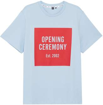 Opening Ceremony 'OC' mirrored logo unisex T-shirt
