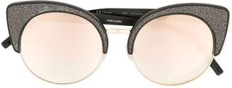 Matthew Williamson glittered cat eye sunglasses