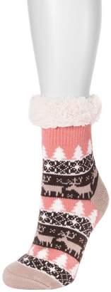 Muk Luks Women's Fluffy Cabin Socks