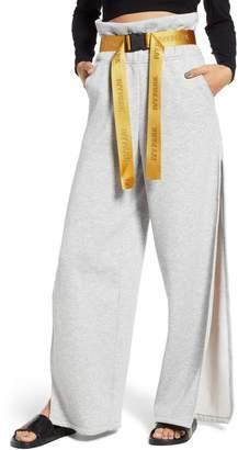 Ivy Park R) Paperbag Waist Split Leg Joggers