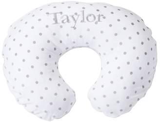 Pottery Barn Kids Gray Stripe/Dot Boppy® Nursing & Infant Support Pillow Slipcover Only