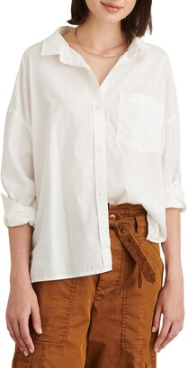 Alex Mill Detachable Collar Oversize Shirt