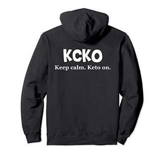 Keto Hoodie KCKO Keep Calm Keto On Keto Lifestyle