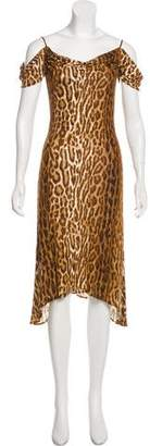 Yigal Azrouel Jersey Midi Dress