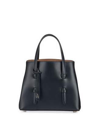 Alaia Mina Mini Smooth Leather Top Handle Bag
