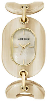 Anne Klein AK-2674BKGB Honey Analog Bracelet Watch