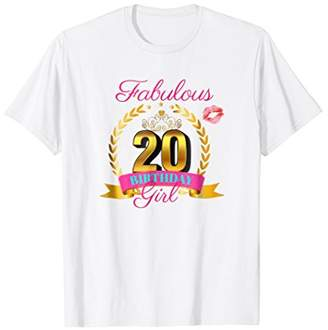 Cute: Fabulous 20 Year Old Birthday Girl Party Shirt Outfit