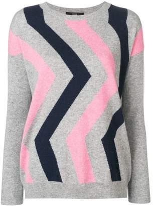 Steffen Schraut geometric pattern sweater