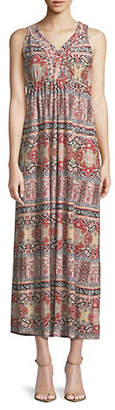Style&Co. STYLE & CO. Graphic Maxi Dress