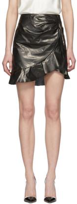 Isabel Marant Black Talouma Miniskirt