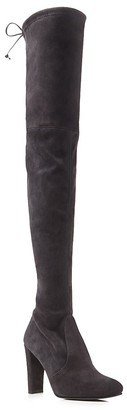 Stuart Weitzman Highland High Heel Over the Knee Boots $798 thestylecure.com