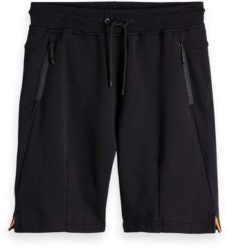 Scotch & Soda Zip Detailed Sweat Shorts Club Nomade