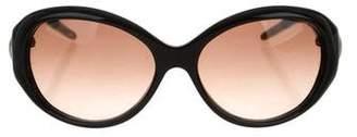 Jimmy Choo Karin Tortoiseshell Sunglasses
