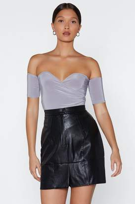 Nasty Gal Shoulder and Wiser Off-the-Shoulder Bodysuit