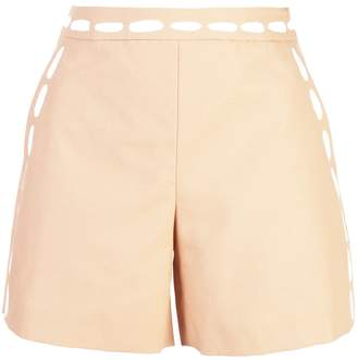 Moschino painted detail shorts