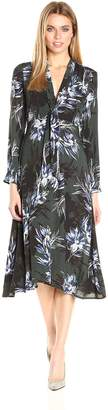 ASTR the Label Women's Edith Floral Print Maxi Dress