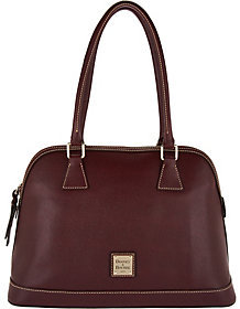 Dooney & Bourke Saffiano Leather Domed Satchel $248 thestylecure.com