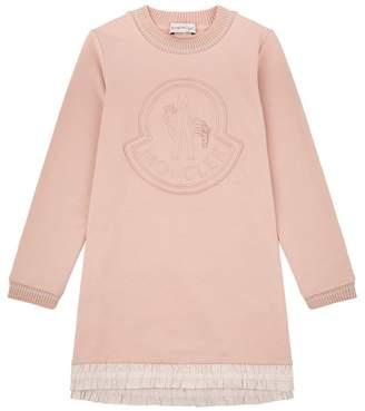 Moncler Logo Sweater Dress